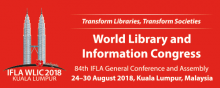 NESCHEN mit innovativen neuen Produkten auf dem IFLA World Library and Information Congress in Kuala Lumpur