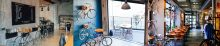 Boxenstopp auf der FESPA: Neschen präsentiert Messestand als Fahrradcafé