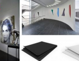 An opaque mounting solution for galleries, artists and signmakers